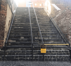The Stone Stairs of Death: An Unconventional News Source
